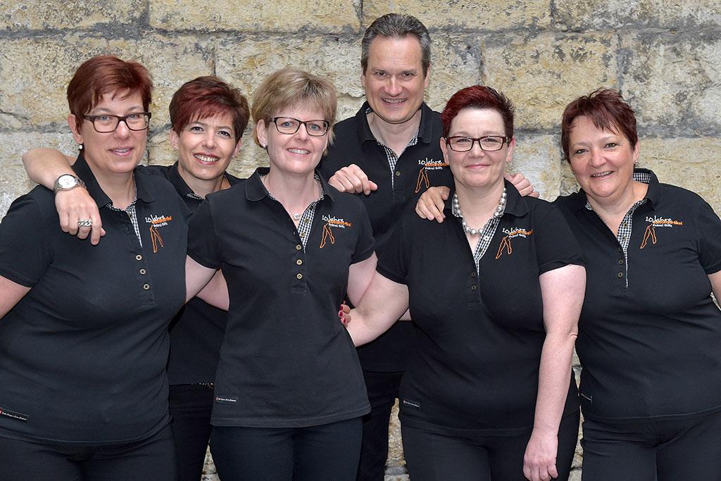 Team Foto | Sanitätshaus Fränzi Götz in Aarau
