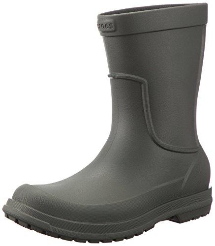 Crocs Regenstiefel Herren «Allcast Rain Boot Dusty Olive»