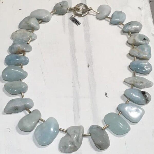 Aquamarin Halskette von TerraPierra | Landanzeiger-Shopping
