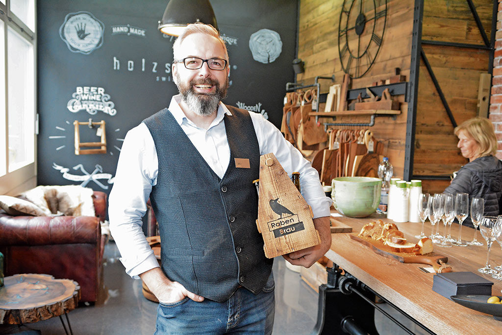 Max Stangl der Manufaktur Holzstangl | Landanzeiger-Shopping