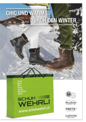 Schuh Werhli Prospekt Winter 2018 | Landanzeiger-Shopping