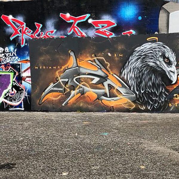 Graffiti-Workshop moser-art   Landanzeiger-Shopping