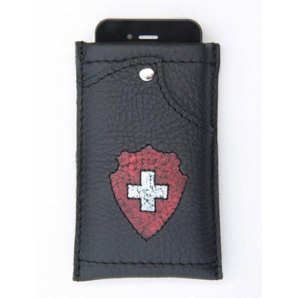 Handy Hülle aus Leder mit Kreditkartenfach | Landanzeiger-Shopping