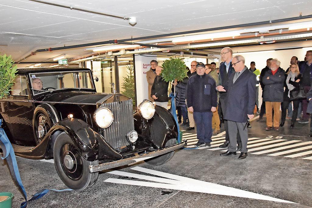 Rolls-Royce im Kasinoparking Aarau | Landanzeiger-Shopping