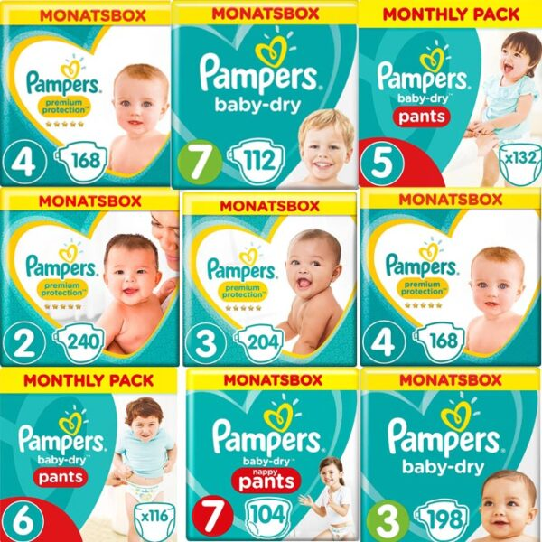 Pampers Monatsboxen | Landanzeiger-Shopping