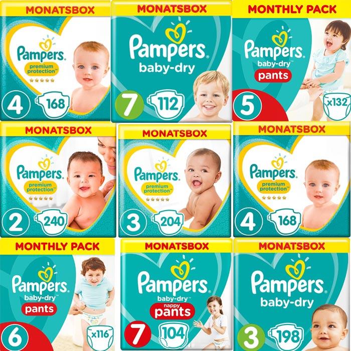 Pampers Monatsboxen | Landanzeiger-Shopping