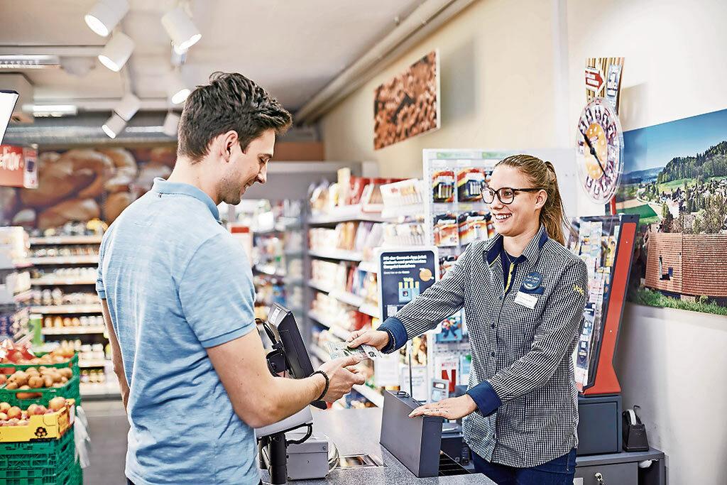 Bargeld beziehen bei Volg | Landanzeiger-Shopping