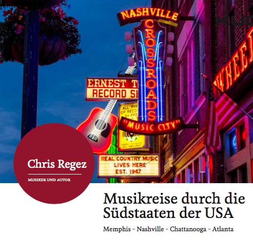 Musikreise mit Chris Regez bei Kuoni | Landanzeiger-Shopping