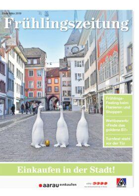 Frühlingszeitung Einkaufen in Aarau 2019   Landanzeiger-Shopping