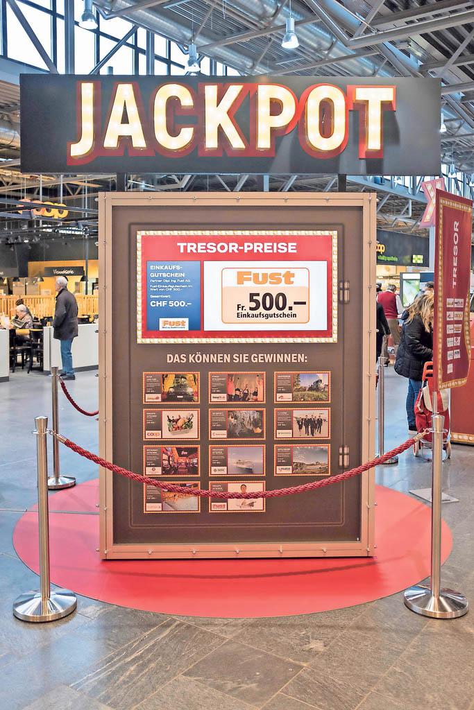 Jackpot knacken im Einkaufszentrum Telli in Aarau | Landanzeiger-Shopping