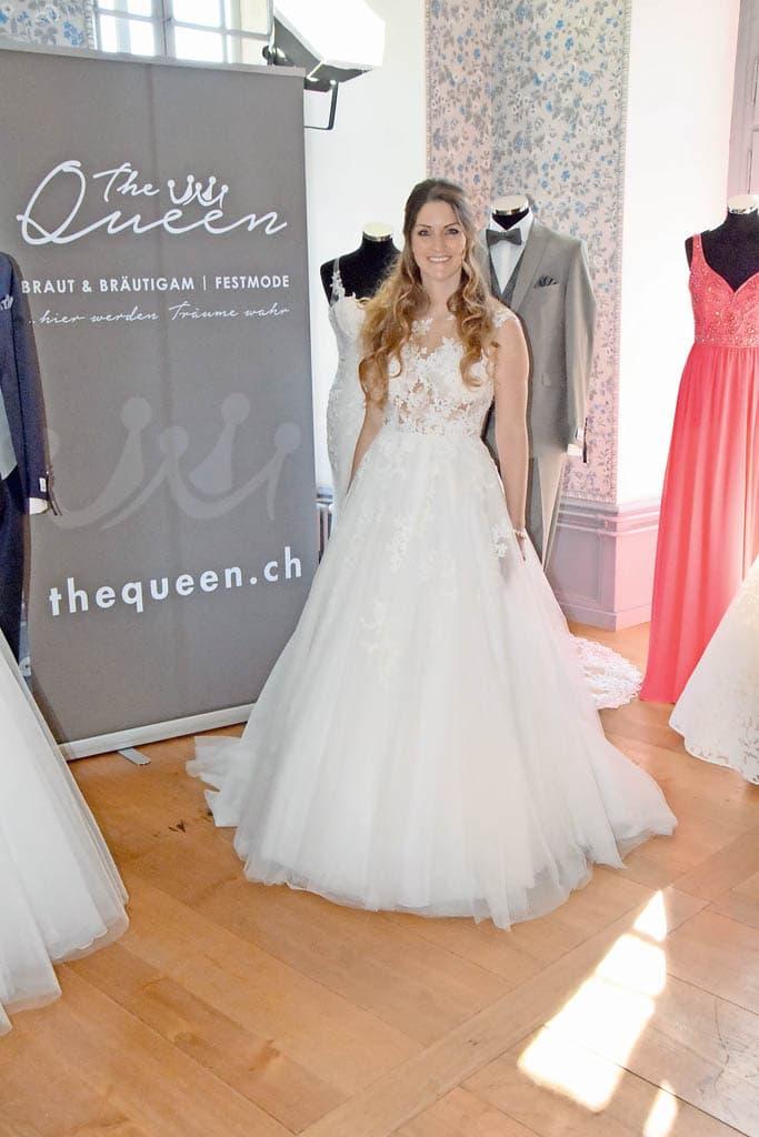 Wundervolle Braut an der Hochzeitsmesse in Lenzburg   Landanzeiger-Shopping