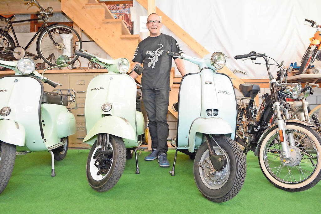 Vespas bei Alfremo Bike | Landanzeiger-Shopping