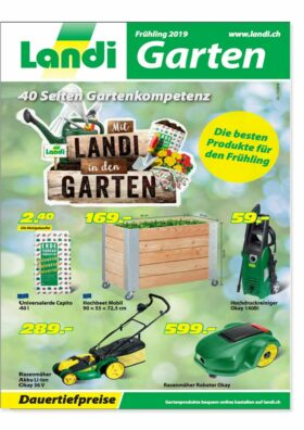 Landi Fruehlingsprospekt 2019   Landanzeiger-Shopping