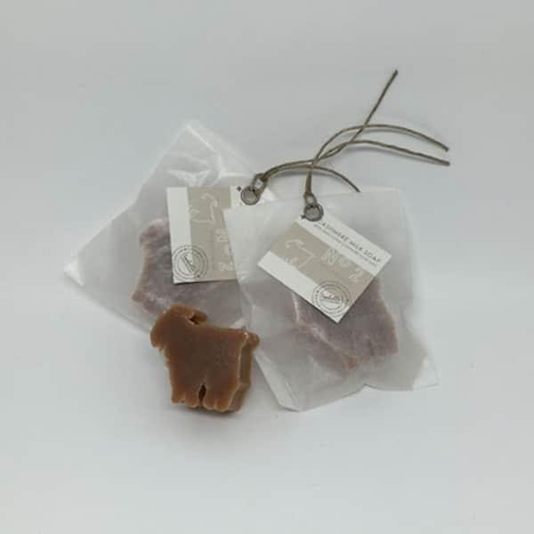 Seife Miniziege in Pergament verpackt | Landanzeiger-Shopping