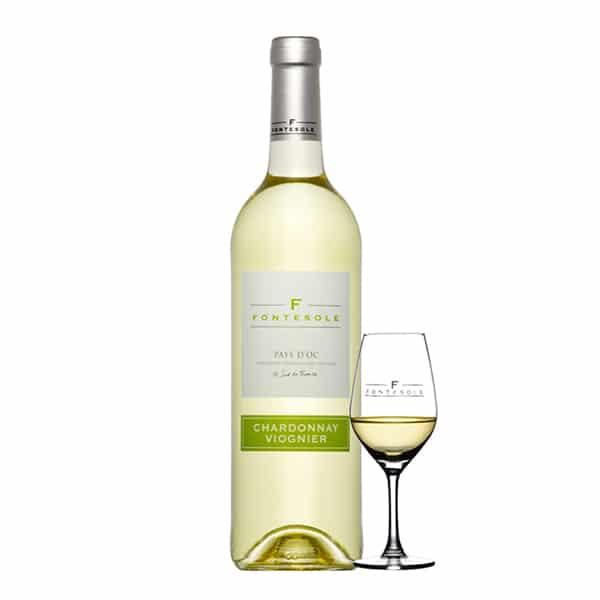 Les Vignerons de Fontès Chardonay-Viognier | Landanzeiger-Shopping