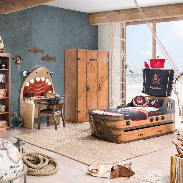 Piraten-Kinderzimmer-Set   Landanzeiger-Shopping