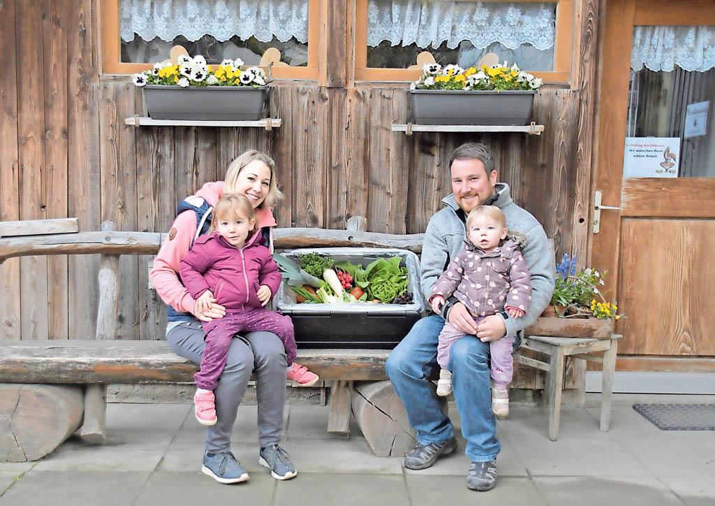 Familie Ruch von Saisonbox Kirchleerau | Landanzeiger-Shopping