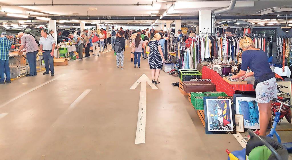 Floh- und Antikmarkt im Wynecenter in Buchs | Landanzeiger-Shopping