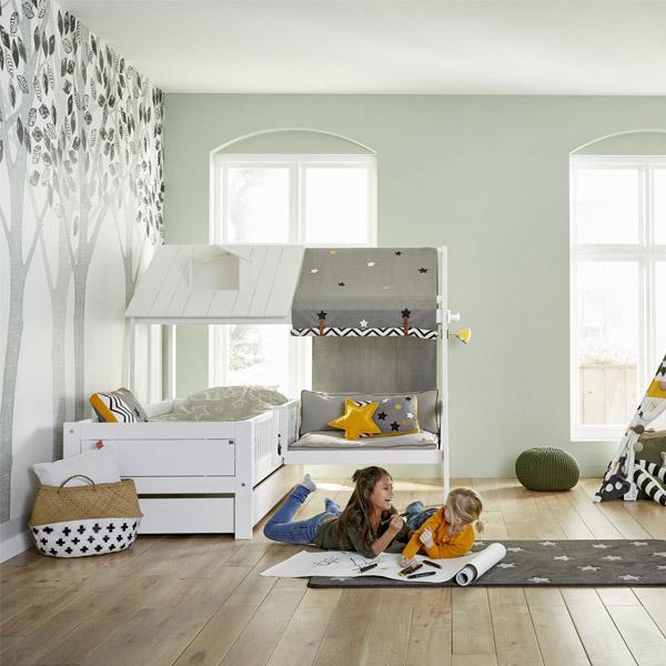 "Kinderbett ""Beach House Corner mit Bank"" | Landanzeiger-Shopping"