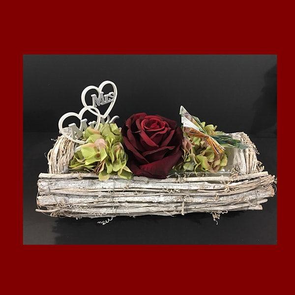 Hochzeitsgeschenk mit roter Rose | Landanzeiger-Shopping