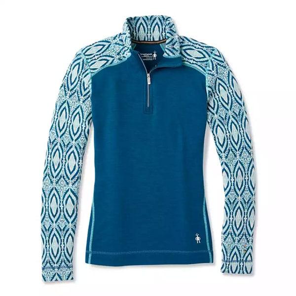 Merino 250 Pattern mit Zip | Landanzeiger-Shopping