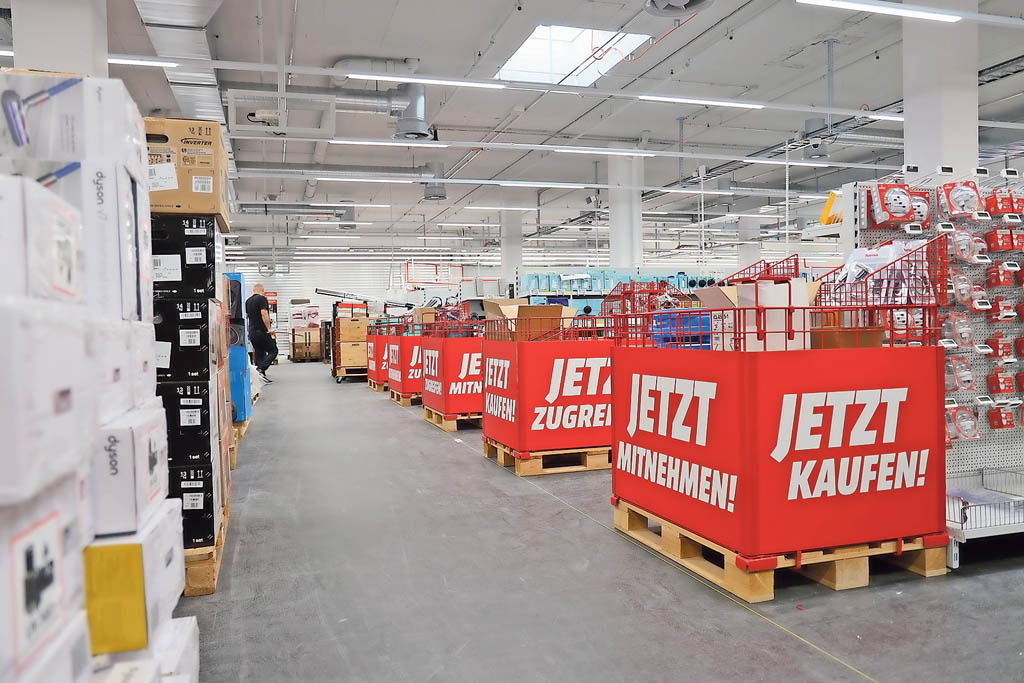 Neu eröffneter Media Markt in Oftringen | Landanzeiger-Shopping