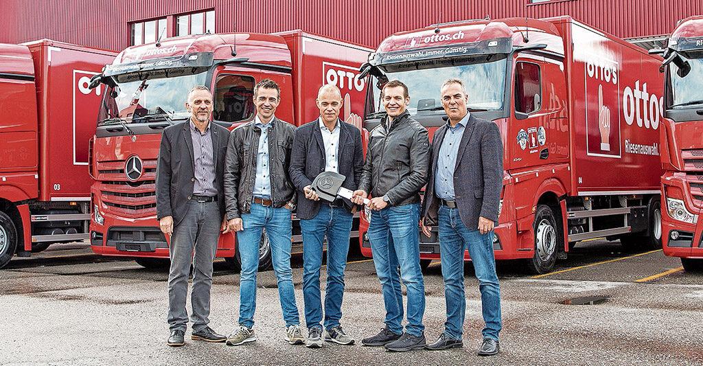 Otto's erneuert Fahrzeugflotte | Landanzeiger-Shopping