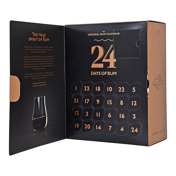 "Adventskalender ""24 Days of Rum"" 
