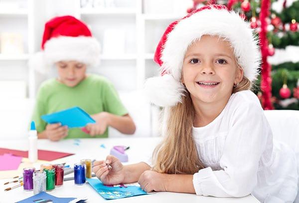 Weihnachtsbasteln für Kinder im Telli Einkaufszentrum | Landanzeiger-Shopping