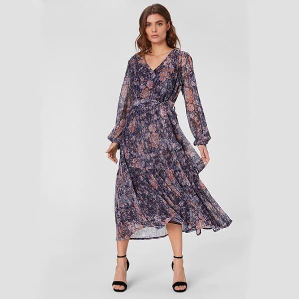 Kleid Glanz Effekt Landanzeiger Shopping