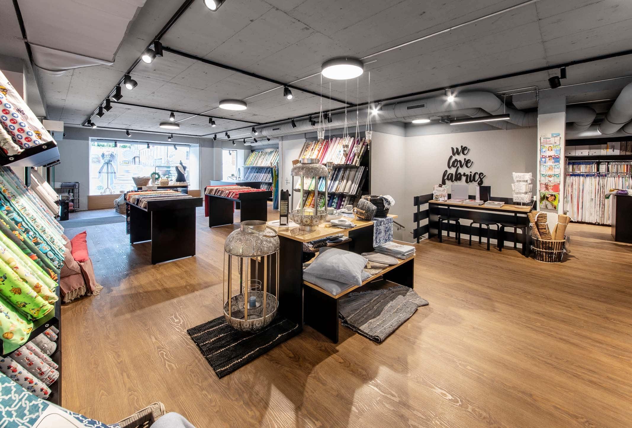 Stoffzentrale Filiale Aarau | Landanzeiger-Shopping