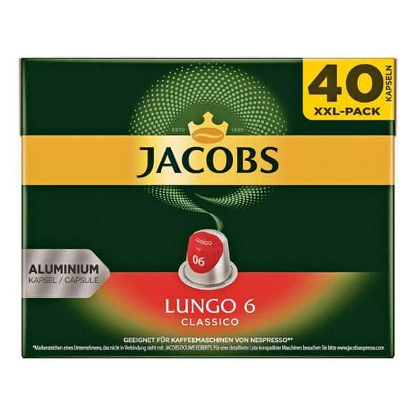 Jacobs Kaffee-Kapseln 40 Stück |Landanzeiger-Shopping