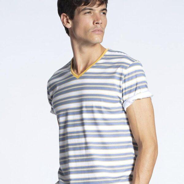 T-Shirt V-Neck Remix 4 Function Calida | Landanzeiger-Shopping