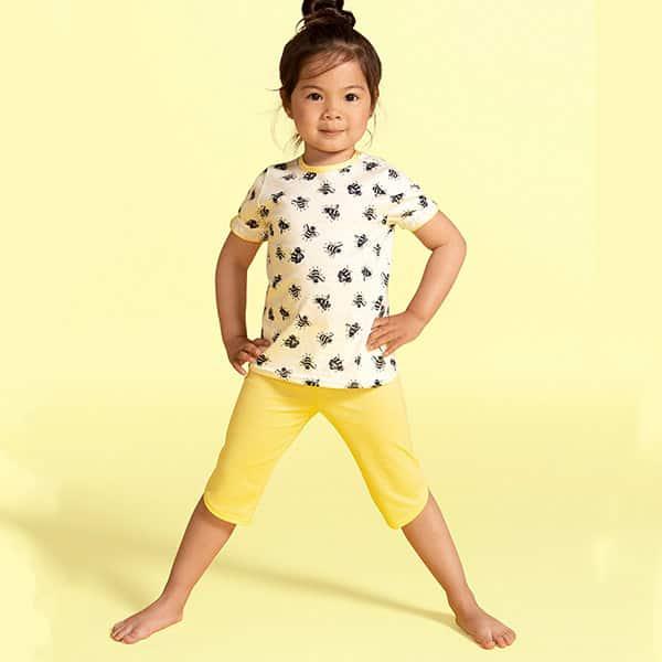 Kinder-Pyjama 3/4 Calida   Landanzeiger-Shopping