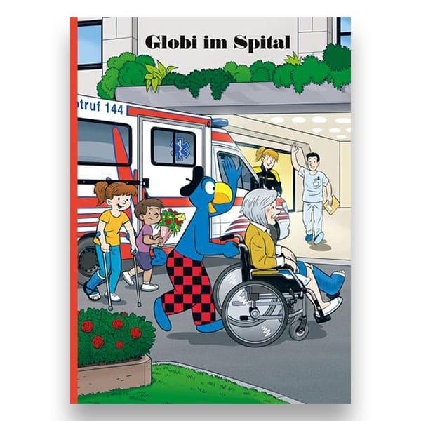 Globi im Spital Buch   Landanzeiger-Shopping
