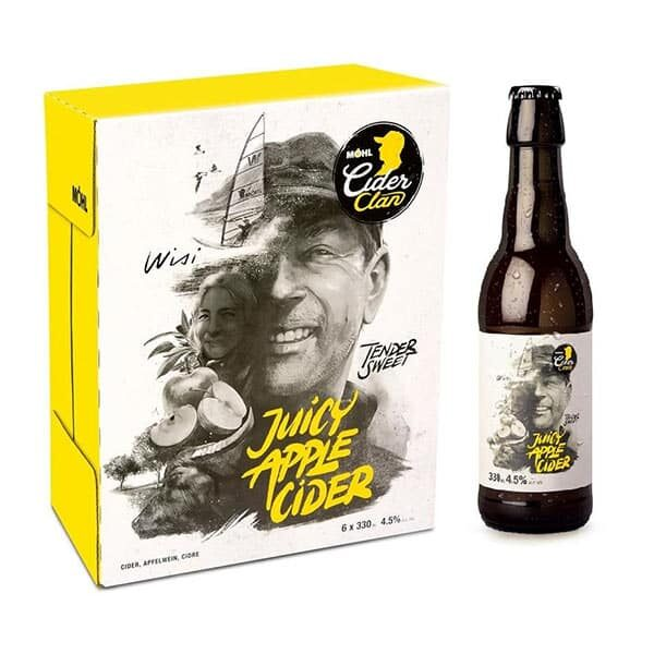 Möhl Cider Clan Juicy Apple Cider | Landanzeiger-Shopping