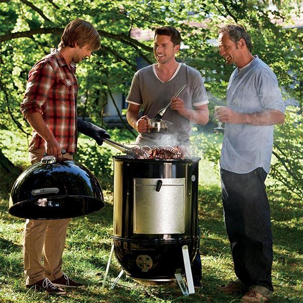 Weber Smokey Mountain Cooker – Smoker 02 | Landanzeiger-Shopping