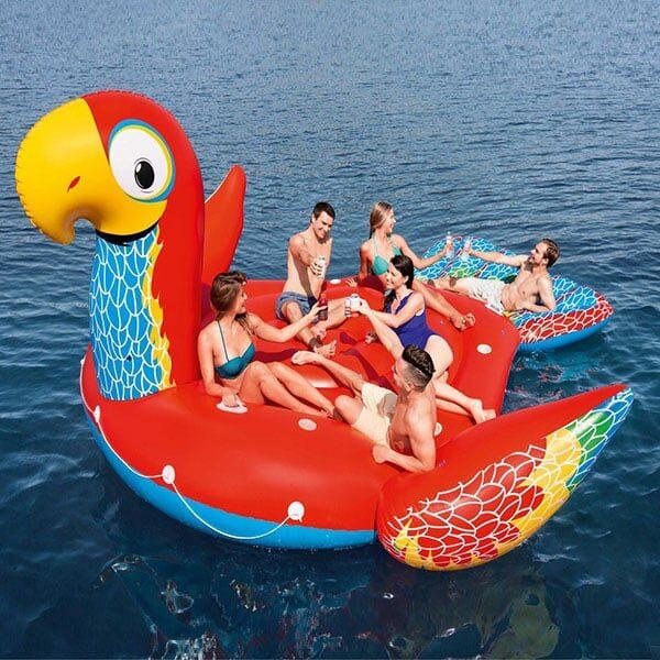 Papagei Schwimminsel Bestway | Landanzeiger-Shopping