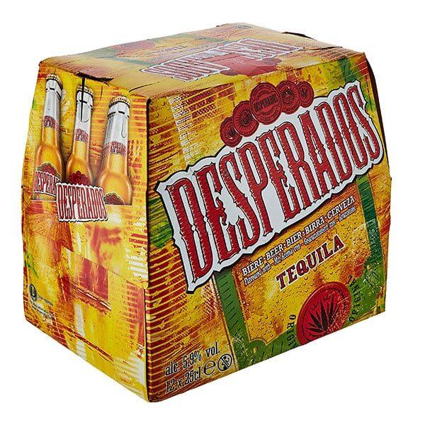 Desperados Tequila Bier 12 x 25 cl | Landanzeiger-Shopping