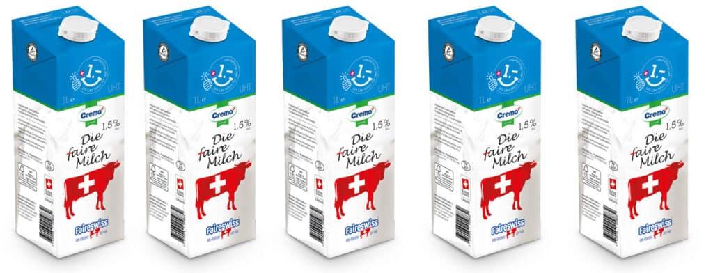 Faireswiss Milch von Spar UHT | Landanzeiger-Shopping