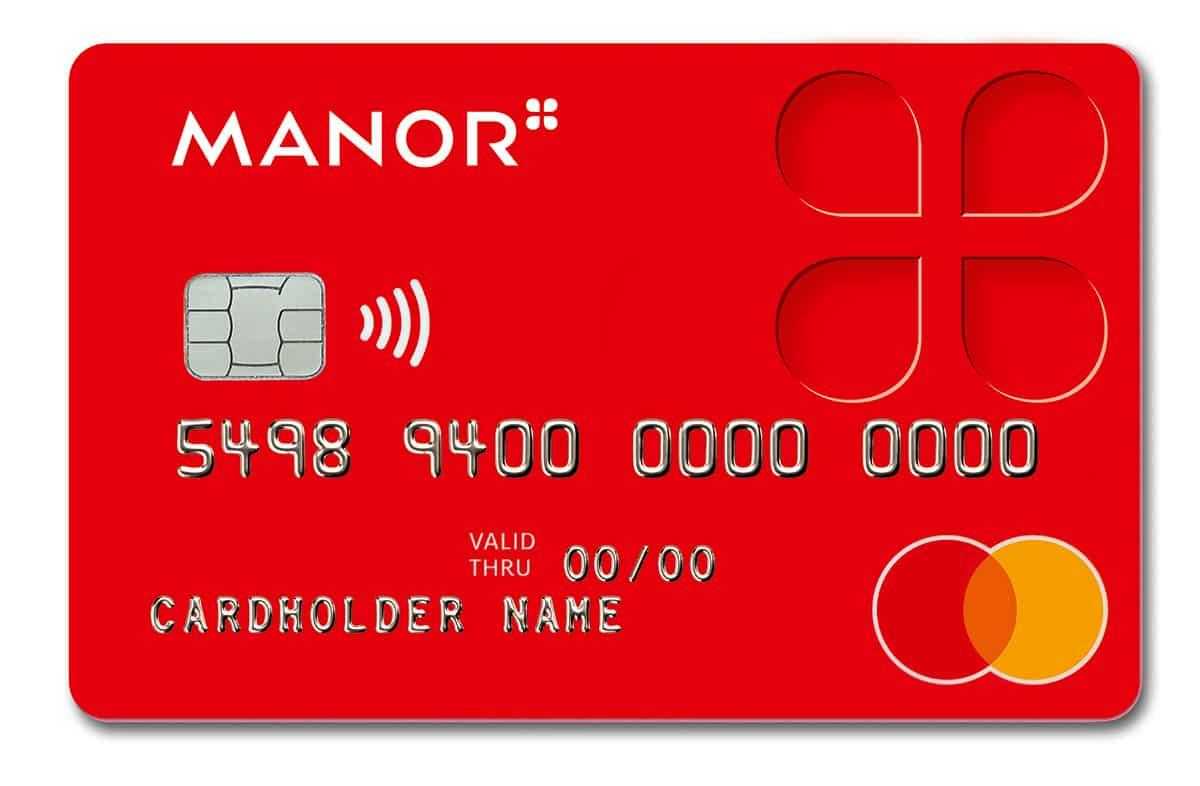 Manor Kundenkarte Mastercard | Landanzeiger-Shopping