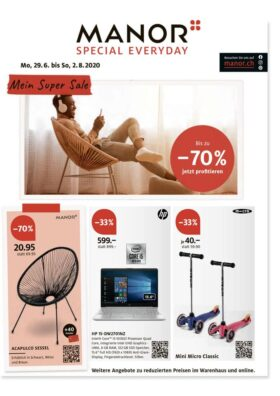 Manor Super Sale Juli 2020 | Landanzeiger-Shopping