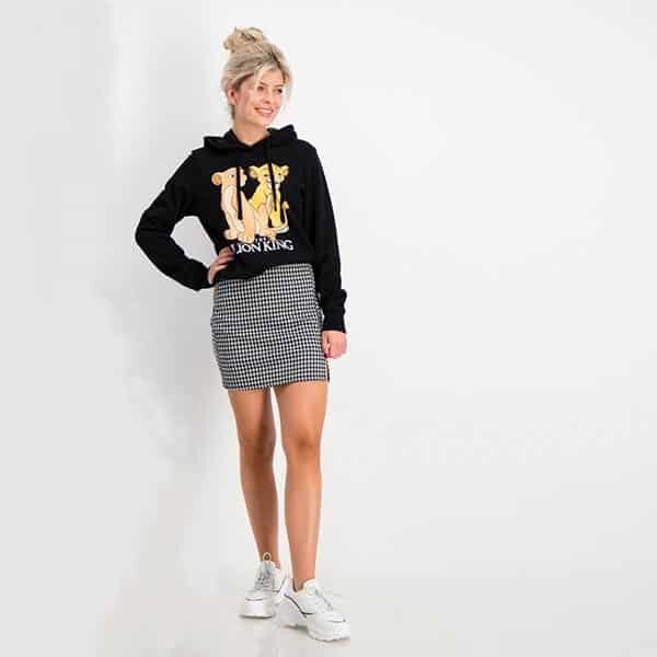 Mini Skirt with slit 01 | Landanzeiger-Shopping