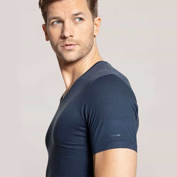 Natural Micro T-Shirt V-Neck 02 | Landanzeiger-Shopping