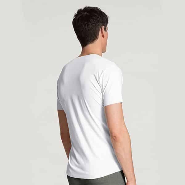 Fresh Cotton V-Shirt Clean Cut Calida 02 | Landanzeiger-Shopping