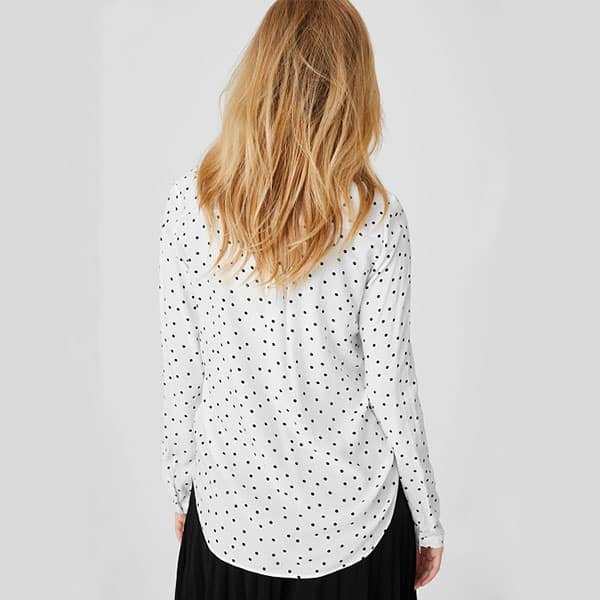 Bluse gepunktet Yessica 02 | Landanzeiger-Shopping
