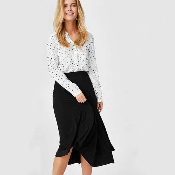 Bluse gepunktet Yessica 03 | Landanzeiger-Shopping