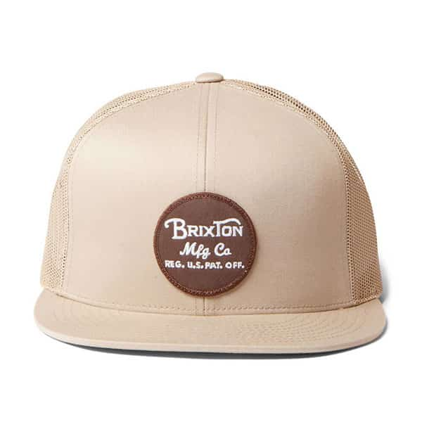 Brixton Snap Cap Wheeler Mesh brown/khaki 01 | Landanzeiger-Shopping