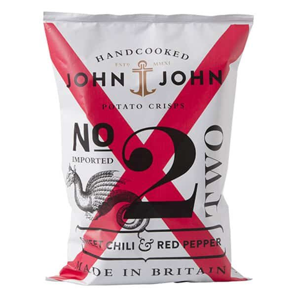 Kartoffelchips John&John Chilli-Paprika | Landanzeiger-Shopping
