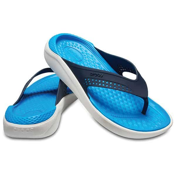 Crocs LiteRide Flip navy white 01 | Landanzeiger-Shopping
